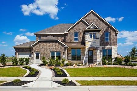 Brown Floor Plan - Gehan Homes