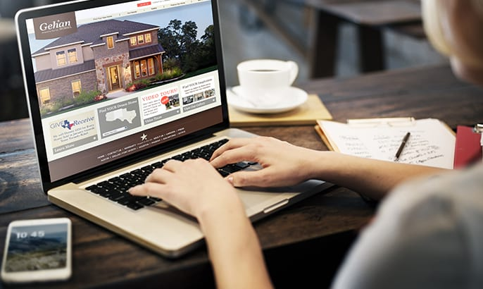 If you have any questions, please visit our website at gehanhomes.com