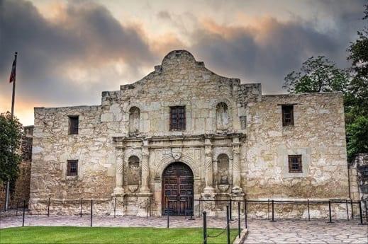 The Alamo in San Antonio, TX