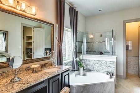 Gehan Homes Magnolia Master Bathroom