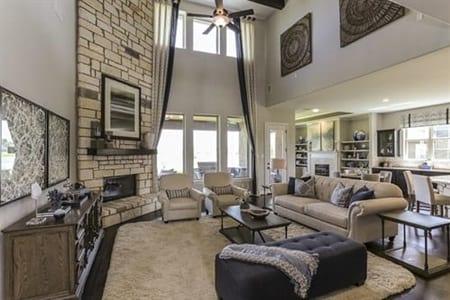 Gehan Homes Oriole Living Room