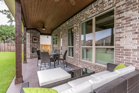 Gehan Homes Stanford outdoor Patio