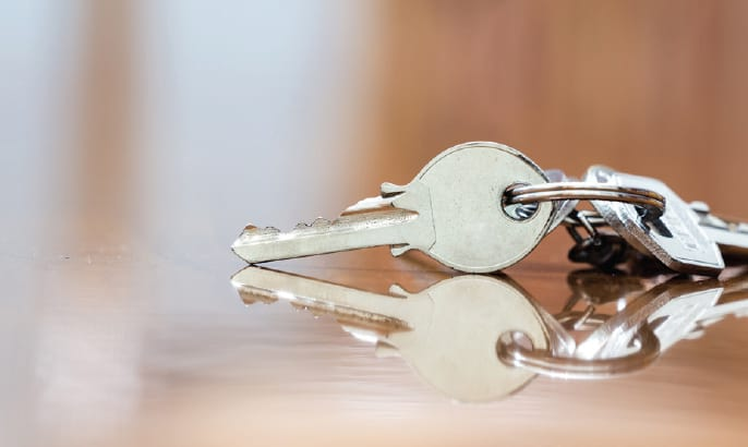 Set of New Gehan Homes keys