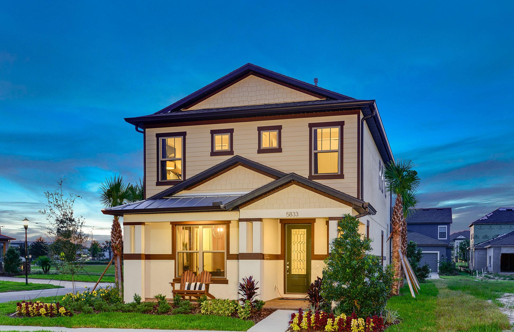 Model Homes Starkey Ranch Tampa Bay Fl